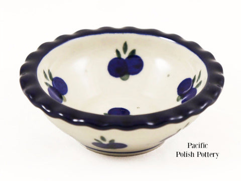 Tart Ruffled Ramekin Bowl - Pattern 67a - Pacific Polish Pottery  - 1