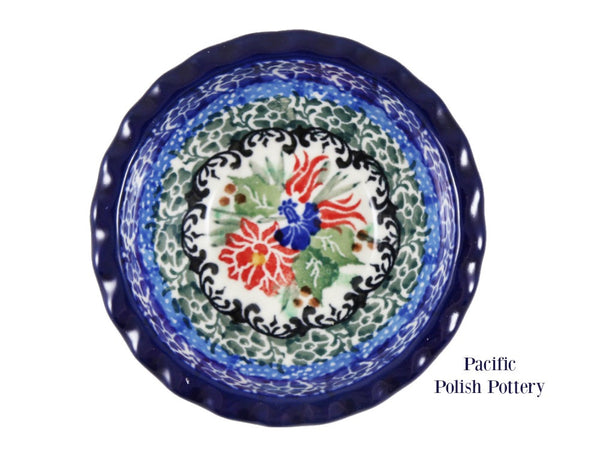 Unikat Tart Ramekin Bowl - Pattern u4391 - Pacific Polish Pottery  - 3