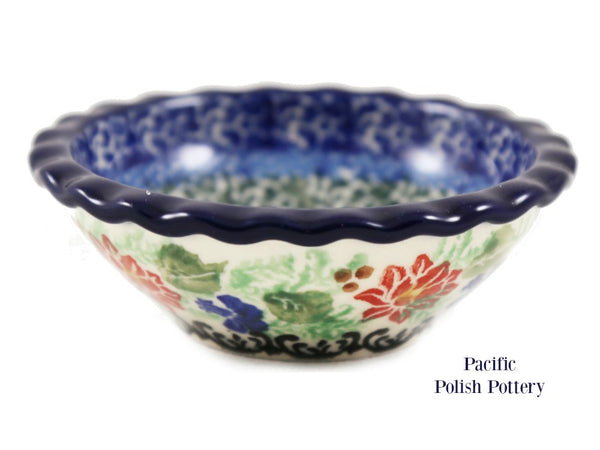 Unikat Tart Ramekin Bowl - Pattern u4391 - Pacific Polish Pottery  - 4