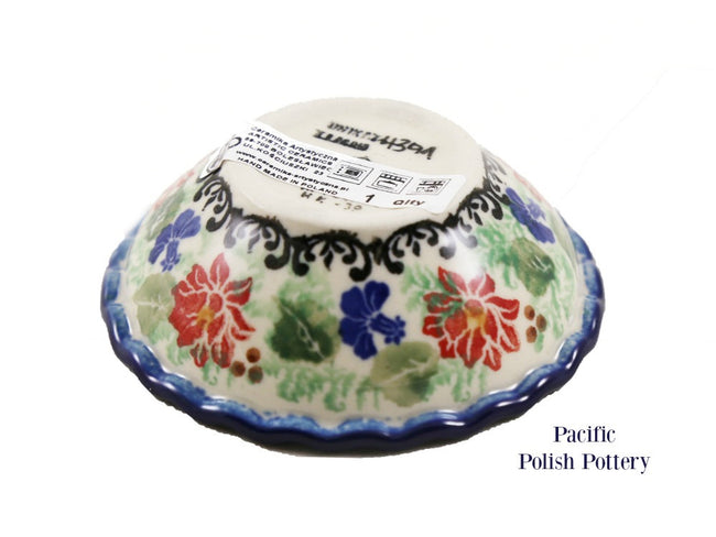Unikat Tart Ramekin Bowl - Pattern u4391 - Pacific Polish Pottery  - 2