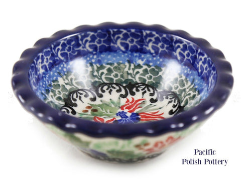Unikat Tart Ramekin Bowl - Pattern u4391 - Pacific Polish Pottery  - 1