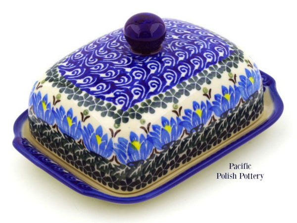 Butter Dish- Pattern 1231 - Pacific Polish Pottery  - 1