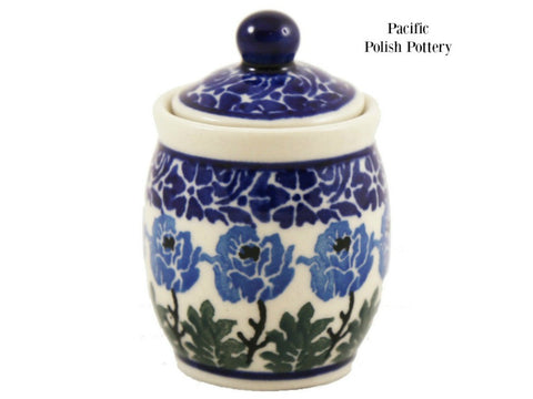 Mini Jar - Pattern 1390 - Pacific Polish Pottery