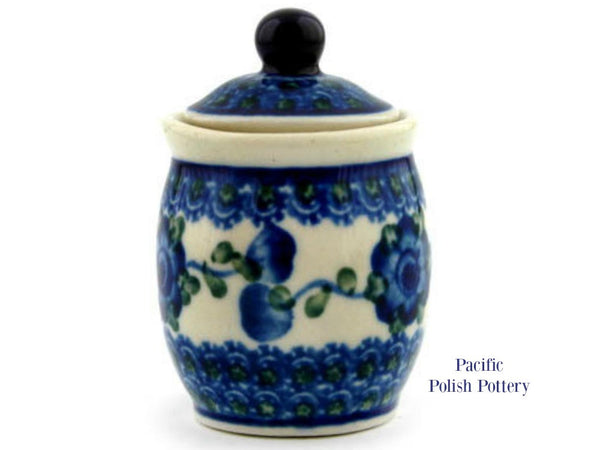 Mini Jar - Pattern 163 - Pacific Polish Pottery