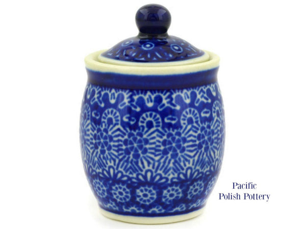 Mini Jar - Pattern 884 - Pacific Polish Pottery