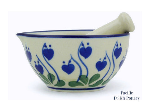 Mortar and Pestle - Pacific Polish Pottery