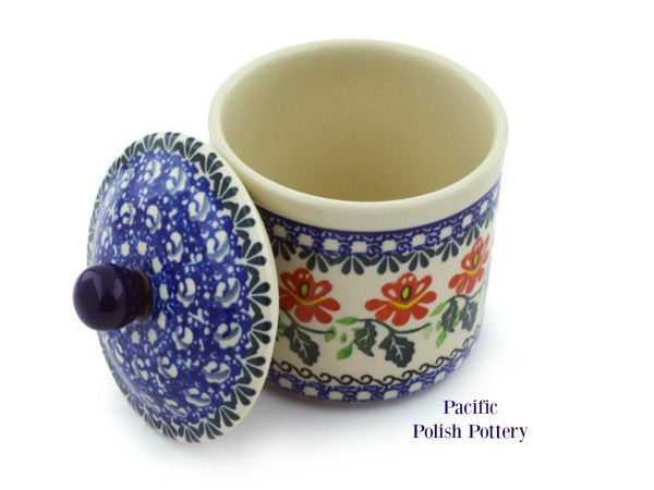 Kitchen Canister - Pattern 1308 - Pacific Polish Pottery  - 2