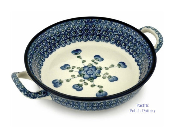 Handled Baker- Pattern 163 - Pacific Polish Pottery