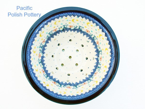 Berry Bowl Colander Set - Pacific Polish Pottery  - 4