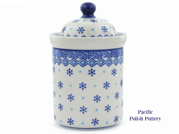 Kitchen Canister Jar Pattern 387 - Pacific Polish Pottery  - 1