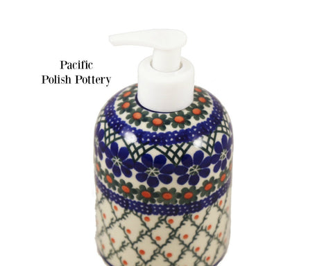 Soap or Lotion Dispenser - Pacific Polish Pottery  - 2