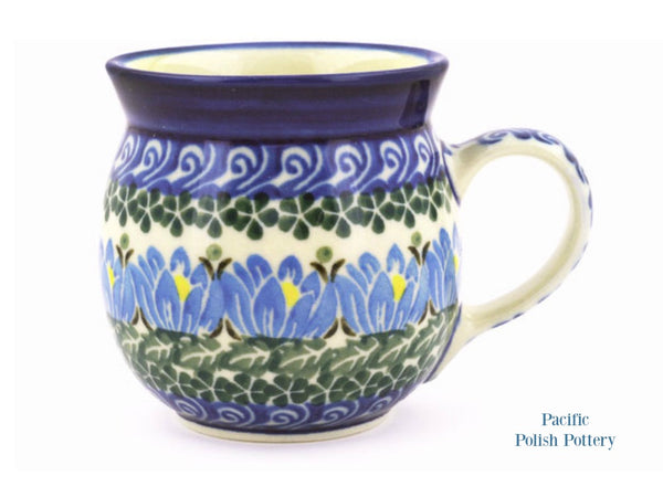 8oz Bubble Mug - Pattern 1231 - Pacific Polish Pottery