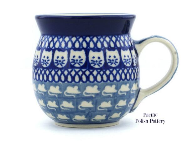 Unikat Ladies 8oz Mug - Pacific Polish Pottery  - 1