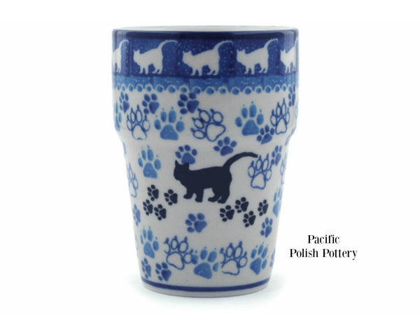 Tumbler Cup - Pattern 1771 - Pacific Polish Pottery  - 1