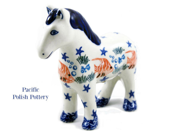 Horse Figurine - Pacific Polish Pottery