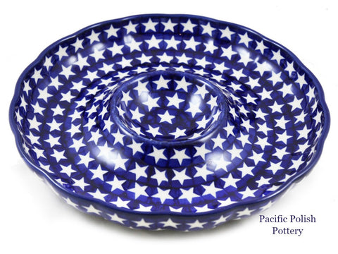 Chip and Dip Plate