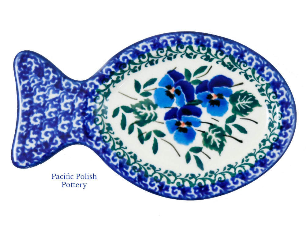 Fish Shaped Side Plate  sc 1 st  Pacific Polish Pottery & Fish Shaped Side Plate \u2013 Pacific Polish Pottery