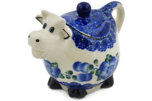 Cow Sugar Bowl Figure