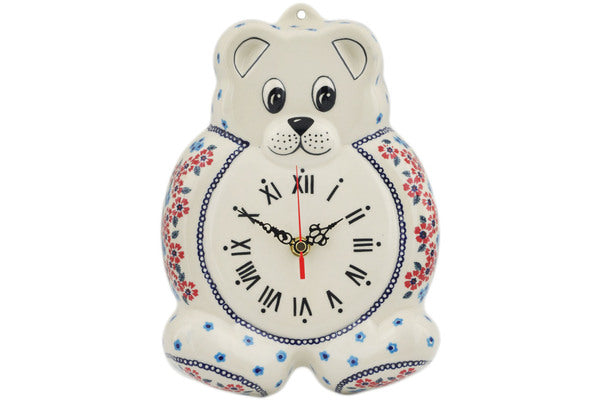 Large Teddy Bear Clock