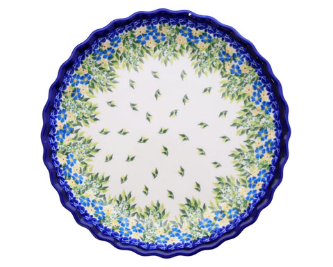 Unikat Ruffled Pie Dish