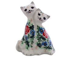 Unikat Double Cat Figure
