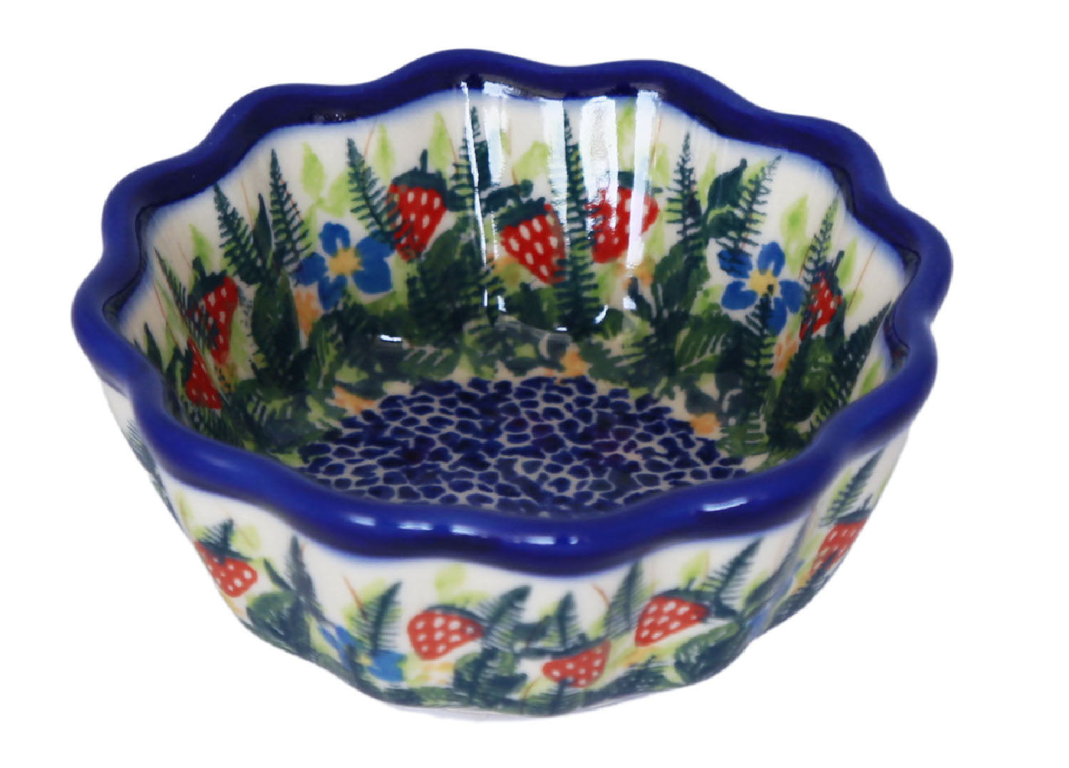 Unikat Small Fluted Bowl
