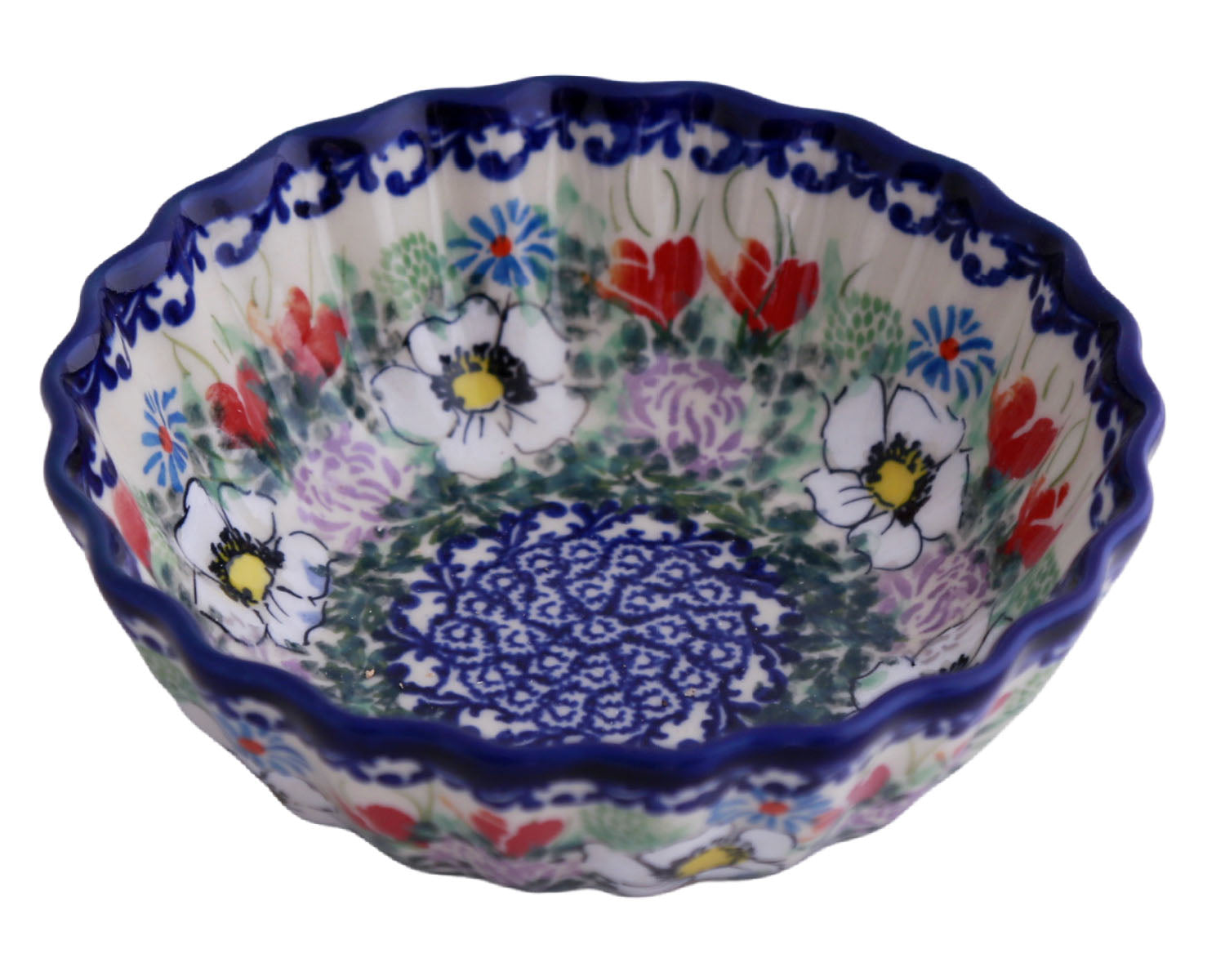 "6"" Scalloped Bowl"