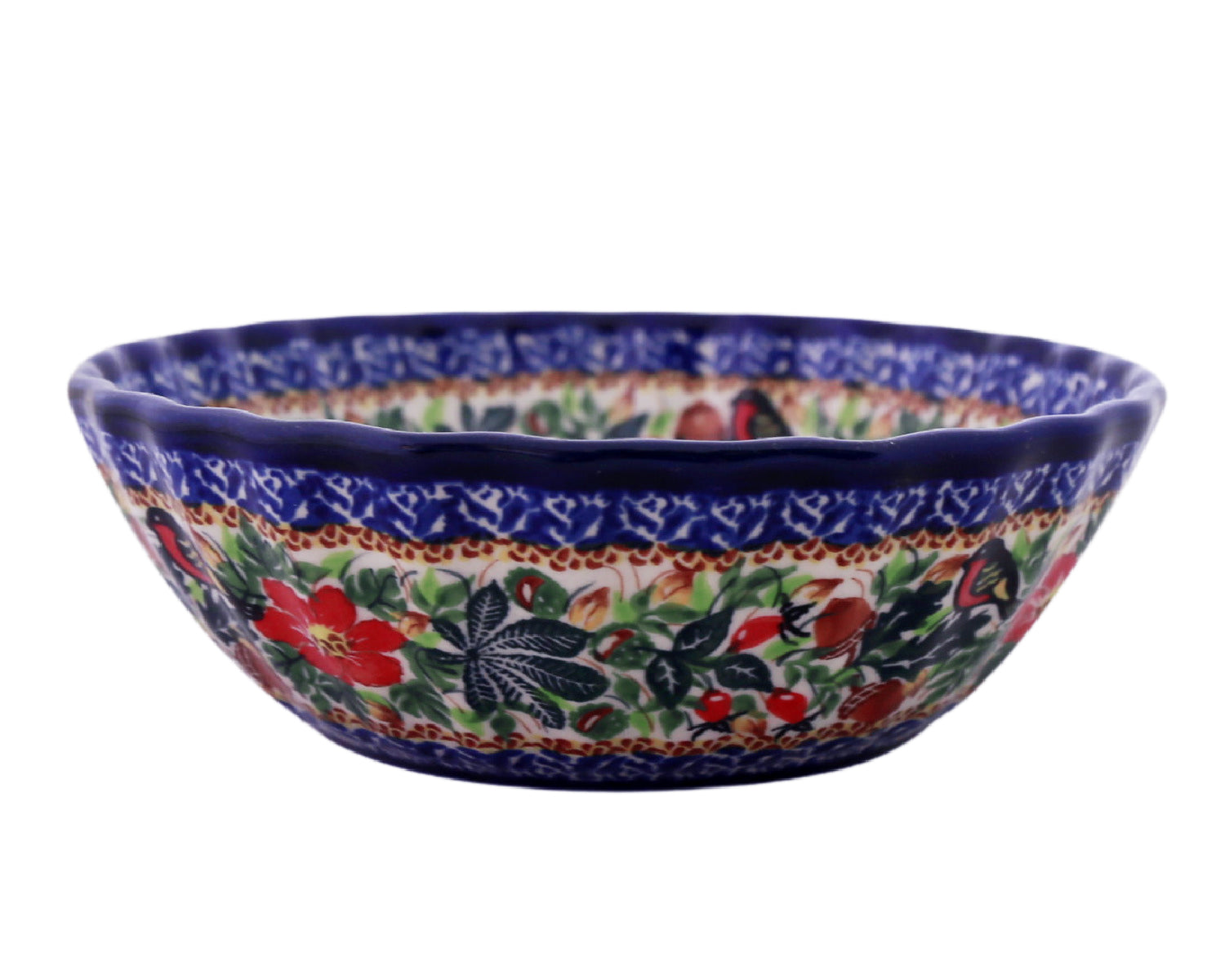 "Unikat 7.75"" Scalloped Bowl"