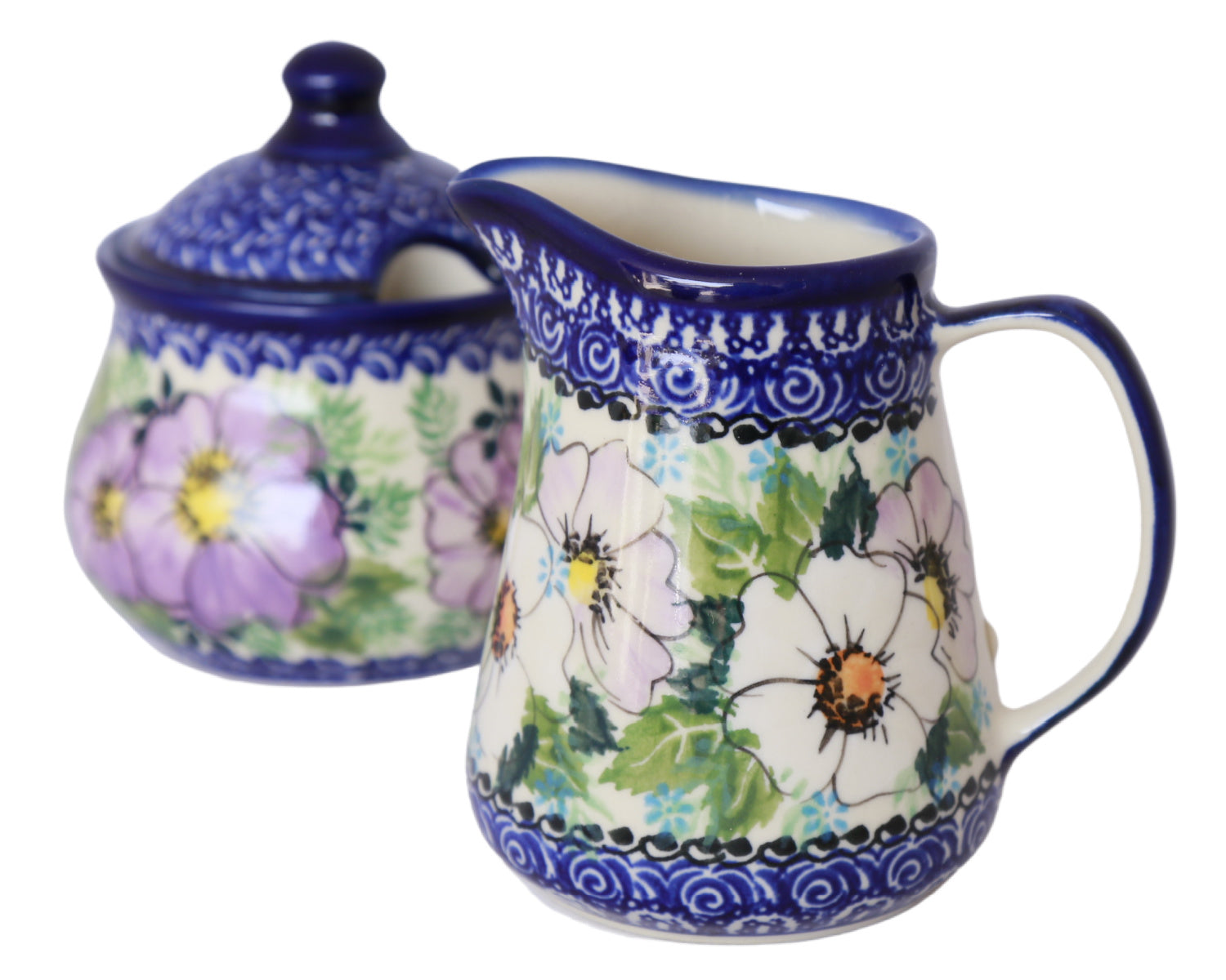 Unikat Sugar and Creamer Set