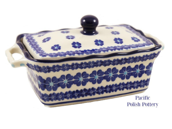 Box with Lid - Pattern 551b - Pacific Polish Pottery