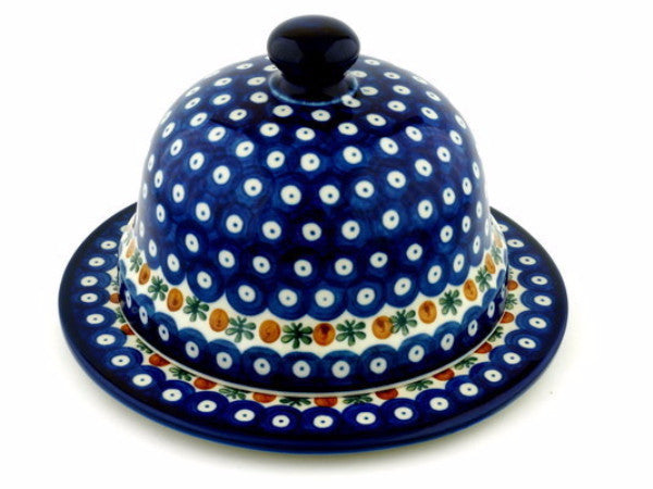 Large Cheese Dome - Pattern 70 - Pacific Polish Pottery