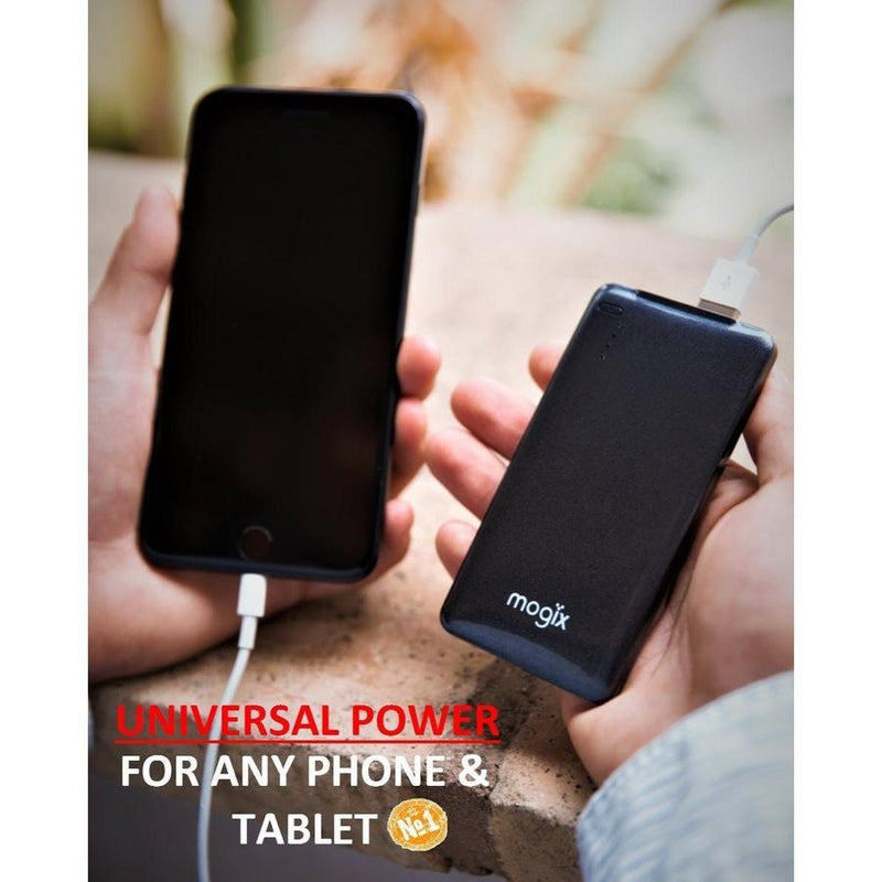 2 Power Banks 10400mAh External Battery With Universal Fast Charge 2Pk