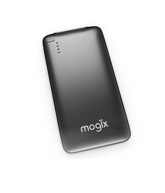 Mogix Cell Phone Portable Charger 5000mAh Slim Power Pack (Black)