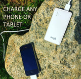 Mogix Cell Phone Portable Charger 5000mAh Slim Power Pack (white)