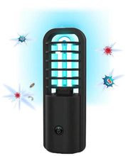 Load image into Gallery viewer, Portable UV C Light Sanitizer Lamp With 360° Germicidal Cleaning Tech - Great For Travel Too