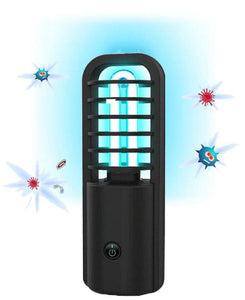 Portable UV C Light Sanitizer Lamp With 360° Germicidal Cleaning Tech - Great For Travel Too