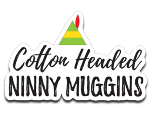 Cotton Headed Ninny Sticker