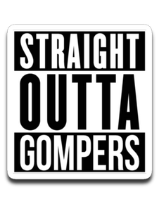 Straight Outta Gompers - Decal
