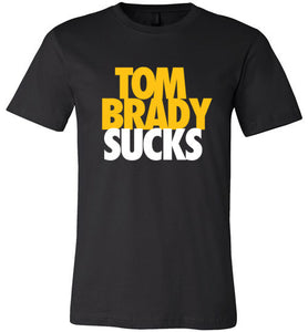 Brady Sucks Gold on Black