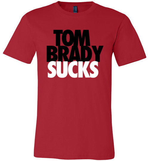 Brady Sucks Black on Red
