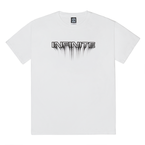 Infinite Archives Blur Tee in White