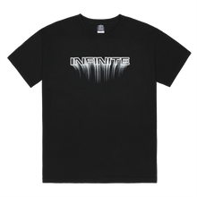 Load image into Gallery viewer, Infinite Archives Blur Tee in Black