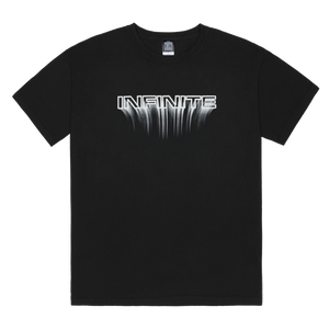 Infinite Archives Blur Tee in Black