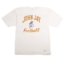 "Vintage ""John Jay Football"" Champion Jersey"