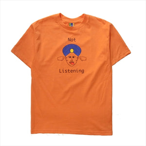 Bedlam Not Listening Tee Orange