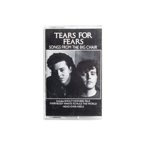 Tears for Fears - Songs from the Big Chair Cassette