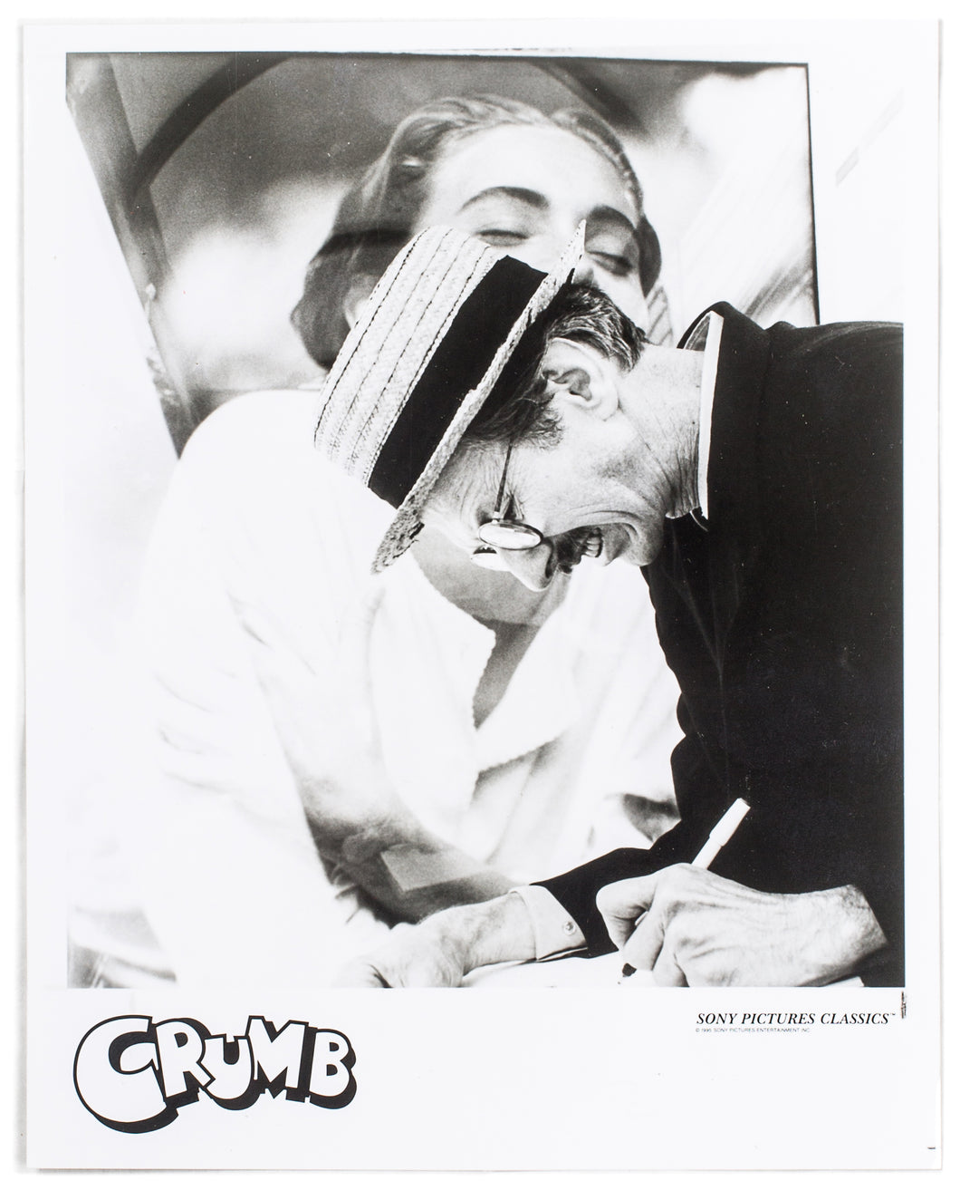 R. CRUMB Press Photograph