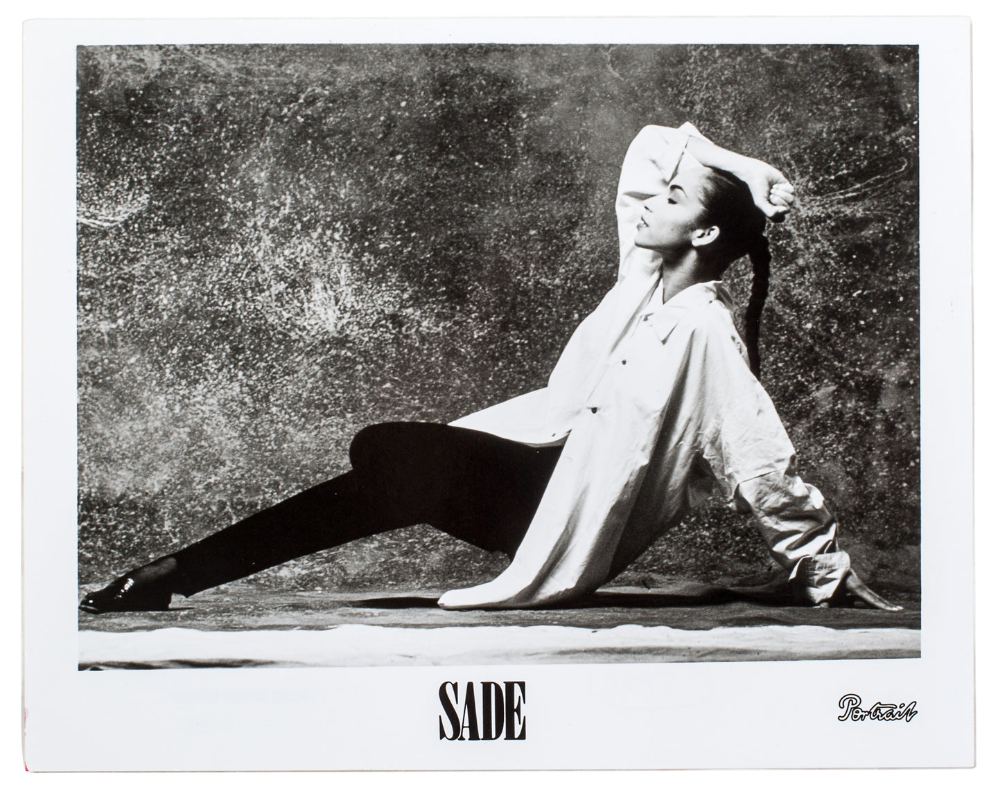 Vintage Sade Press Photograph