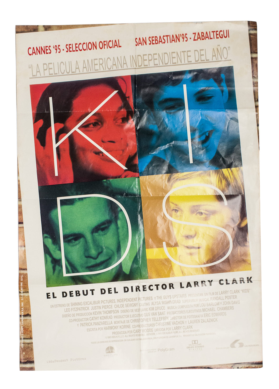KIDS - Cannes 1995 Poster