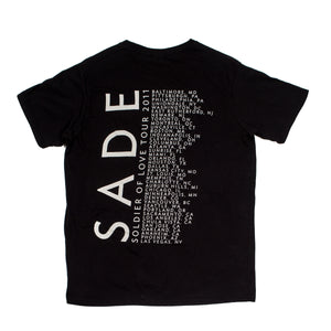 SADE Soldier of Love Tour Tee